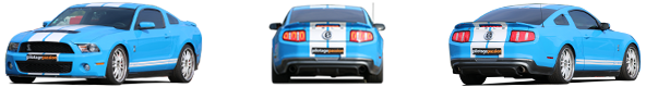 pilotage mustang shelby gt 500